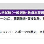 順天堂大学スポーツ健康科学部 AO入試 事前課題 小テスト(マーク式) 予想問題